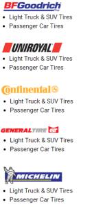 Tire brands image