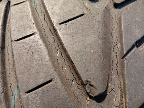 Cracked Tires | Wichita Tires
