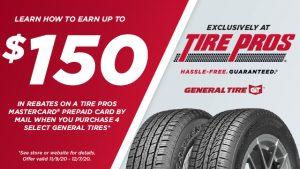 TP General Tire Coupon Nov