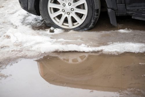 How Far Can I Drive on a Flat Tire?   Wichita Tires